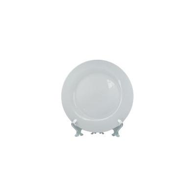 Тарелка белая, 20см