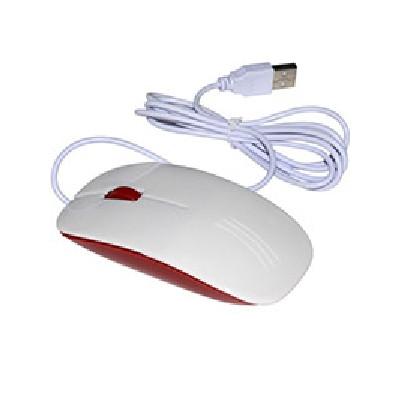 Мышь компьютерная красная...