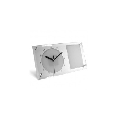 Стеклянные часы диаметр...