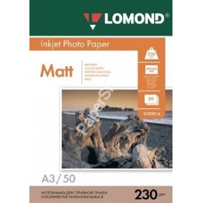 А3 230 г/м 50л матовая lomond