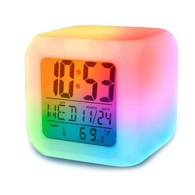 Часы с изменением цвета