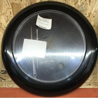 Часы акриловые D30 см черные