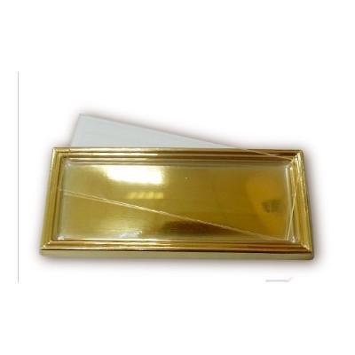 Золотая рамка на магните...
