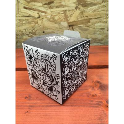 Коробка под кружку черная